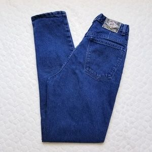 Vintage 90s Express mom jeans tapered high rise 26